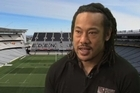Former All Black captain Tana Umaga talks about the expectations on the All Blacks to perform at the Rugby World Cup.