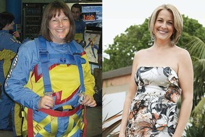 Victoria Pinder lost 13.7kg over 27 weeks, changing her habits so she now eats at a slower pace. Photos / Supplied
