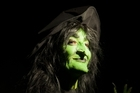 Singer Helen Medlyn as the Wicked Witch of the West in the latest local production of The Wizard of Oz. Photo / Supplied