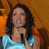 Ria Hall sings 'The World In Union' during the IRB 2011 Rugby World Cup Opening Ceremony at Eden Park. Photo / Getty Images