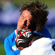 Namibia captain Jacques Burger is hit by Viliame Veikoso of Fiji as he passes the ball. Photo / Getty Images