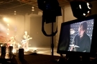 Behind the scenes of Cairo Knife Fight's <i>Origin Of Slaves</i> video shoot. Photo / Supplied
