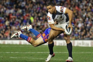 Josh Hoffman looked set to join the Kiwis in the Four Nations until his knee injury. Photo / Getty Images
