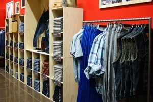 A new Levi's pop up store has opened on O'Connell St, Auckland. Photo / Supplied