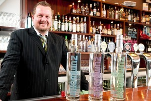 Ulf Fuhrer is hoping Asian drinkers embrace his schnapps. Photo / Supplied