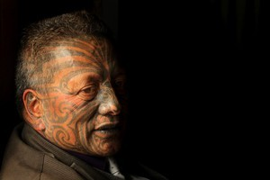 Tame Iti likened the four-year court process as a game of chess that he was forced to play. Photo / Alan Gibson