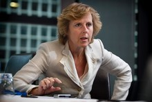 Connie Hedegaard says there must be a cap on how long increasingly large emitters like India, China and Brazil can hide behind the label of 'developing country'. Photo / Natalie Slade 