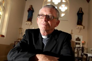 Bishop Patrick Dunn is unconvinced there is a link between religion and smarts. Photo / Janna Dixon
