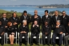 The presentation to the Pacific leaders of black jackets with a silver fern on the chest raised eyebrows in this Rugby World Cup year. Photo / Greg Bowker