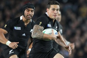 Sonny Bill Williams has the potential to ooze the star power that Jonah Lomu brought to the 1990s. Photo / Paul Estcourt