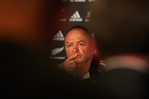 If the All Blacks claim the prize, Graham Henry will get the praise and he'll deserve a lot of it. Photo / Getty Images
