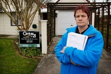 Phillippa Waters says she stands to lose $82,000 from the sale of her late mother's house. Photo / Christine Cornege