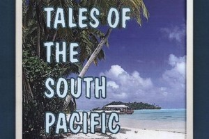 Book cover of New Tales of the South Pacific. Photo / Supplied