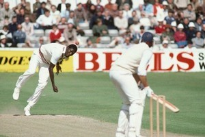 Michael Holding from the West Indies cricket team. Photo / Supplied