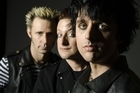 Billie Joe Armstrong, front, was removed from an Southwest airlines aircraft. Photo / Supplied