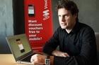 VoucherMob founder Scott Bradley. Vouchermob is looking at a back-door listing on the NZAX. Photo / Paul Estcourt