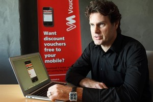 VoucherMob founder Scott Bradley. Vouchermob is looking at a back-door listing on the NZAX. Photo / Paul Estcourt