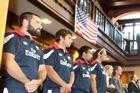 US Eagles rugby team. Photo / Bevan Conley