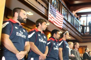 US Eagles rugby team. Photo / Bevan Conley