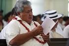 Samoan Prime Minister Tuilaepa Sailele Malielegaoi. Photo / Greg Bowker