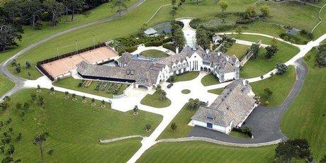 The Auckland mansion. Photo / Jason Dorday