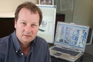 Right Hemisphere's founder and company chief technical officer Mark Thomas. The 3D graphics software company has been sold to German software giant, SAP Ag. File photo