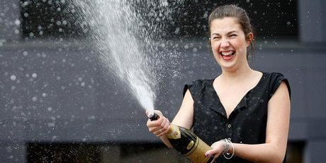 US experts say survey has found alcohol is good for old age - if you're a woman. Photo / Sarah Ivey