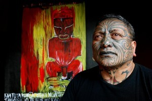 Tuhoe artist Tame Iti. Photo / Kenny Rodgers