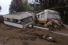 Waiomu Holiday Park was badly damaged in floods during a 2002 'weather bomb'. Photo / Derek Flynn