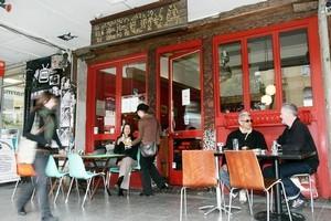 Verona Cafe on Karangahape Rd. Photo / Chris Skelton