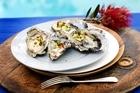 Punters can enjoy fresh Bluff oysters. Photo / Babiche Martens