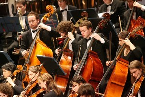 NZSO National Youth Orchestra opened its Saturday concert with Alexandra Hay's 'An Atlas of Unfixed Stars'. Photo / Supplied