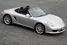 The second-generation Boxster S boasts a 3.4-litre flat six engine that sends it to