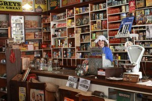 The grocery section in the Francis & Shalfoon Museum, part of Opotiki Museum, evokes nostalgia. Photo / Jim Eagles
