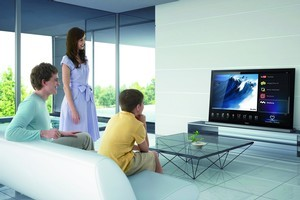 The latest TVs, like the Sony Bravia, are internet connected. Photo / Supplied