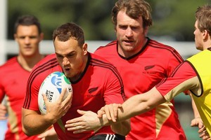 Israel Dagg will start at fullback on Friday night in the Rugby World Cup opener against Tonga. Photo / Getty Images