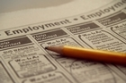 Jobs advertised in newspapers and on the internet dropped 0.6 per cent last month. Photo / Thinkstock