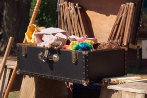 Not so magic after all. Thieves in Adelaide made a magician's suitcase disappear. It's not clear whether he can make it reappear, however. Photo / Thinkstock