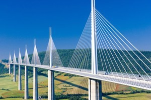 The Millau Viaduct in France. Photo / Thinkstock