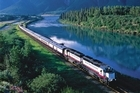 The Rocky Mountaineer rail service. Photo / Rocky Mountaineer Canada