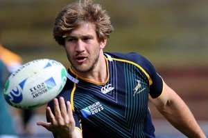Frans Steyn will start at fullback in South Africa's pool D Rugby World Cup clash against Wales. Photo / Getty Images