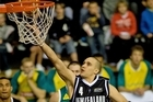 The Tall Blacks beat the Boomers in 2009 to take the Ramsay Shield. Photo / Dean Purcell