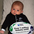 Baby Isabella Rose, No 1 All Blacks supporter. Photo / Hannah Lee Robinson 