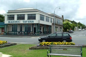 Locals have been trying to save the Masonic Tavern in Devonport. Photo / Supplied