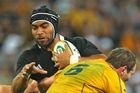 Victor Vito in action against the Wallabies last month. Photo / Getty Images
