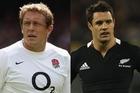 England's Jonny Wilkinson has 1208 career points, 11 behind New Zealand's Dan Carter. Photo / Getty Images