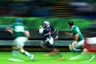 USA versus Italy last night. Photo / Getty Images