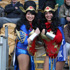 United States fans show their colours at the USA v Ireland Rugby World Cup match. Photo / Getty Images