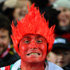 A Wales fan enjoys the pre match atmosphere during the Rugby World Cup South Africa v Wales match. Photo / Getty Images