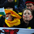 Wales fans cheer on their team during the Wales v South Africa Rugby World Cup match. Photo / Getty Images